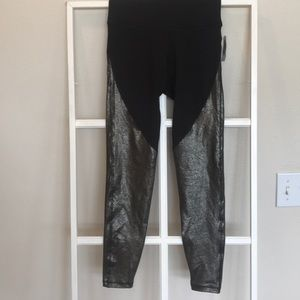 old navy active compression tights nwt small